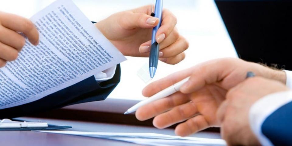 Подпись с согласии об урегулировании